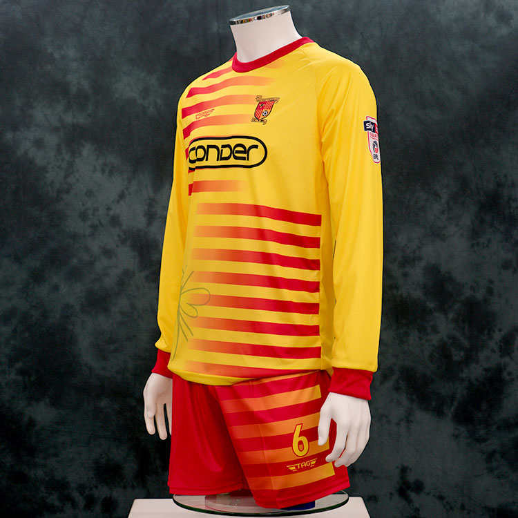 sublimation football kits - 3