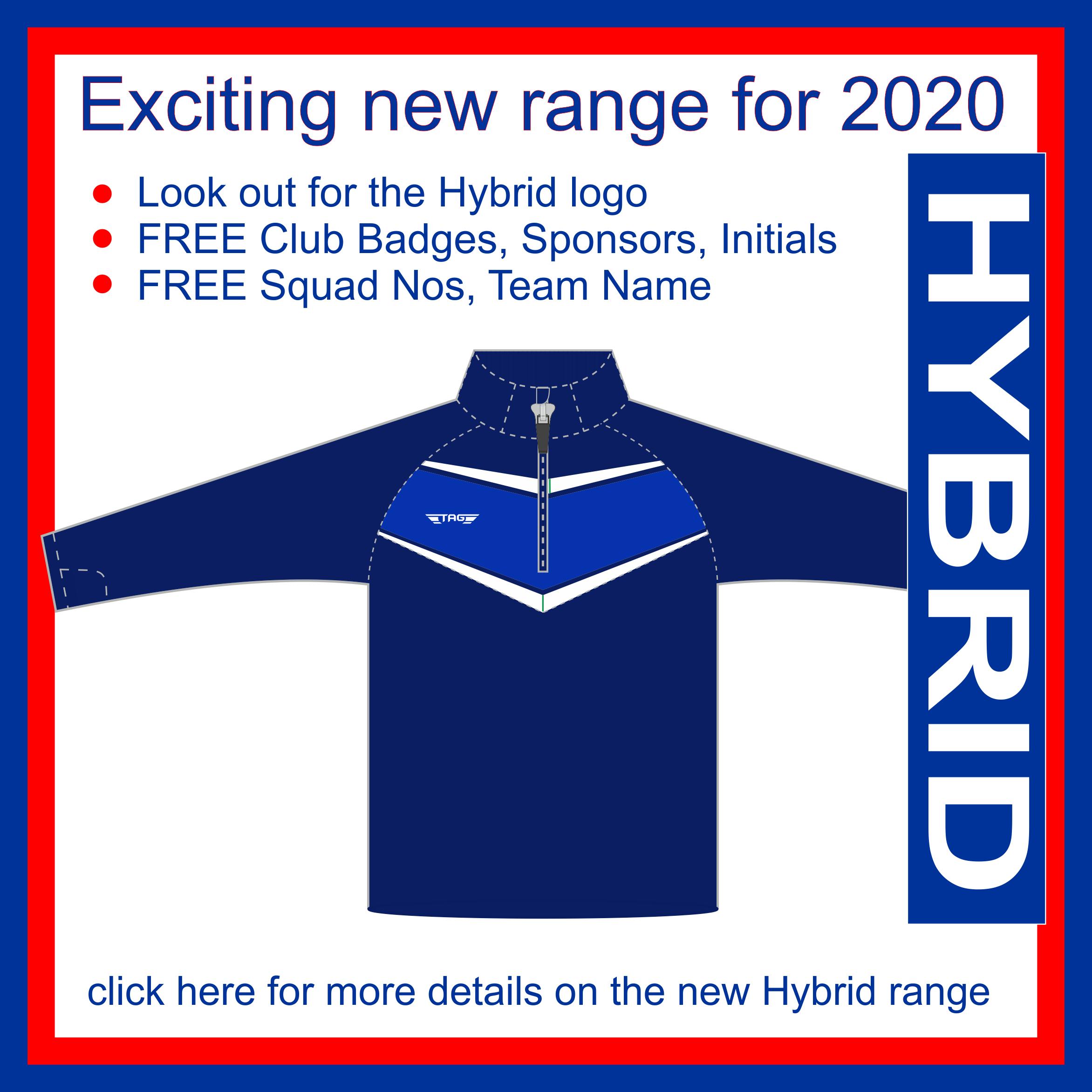 New Hybrid Pro Range - TAG Sportswear
